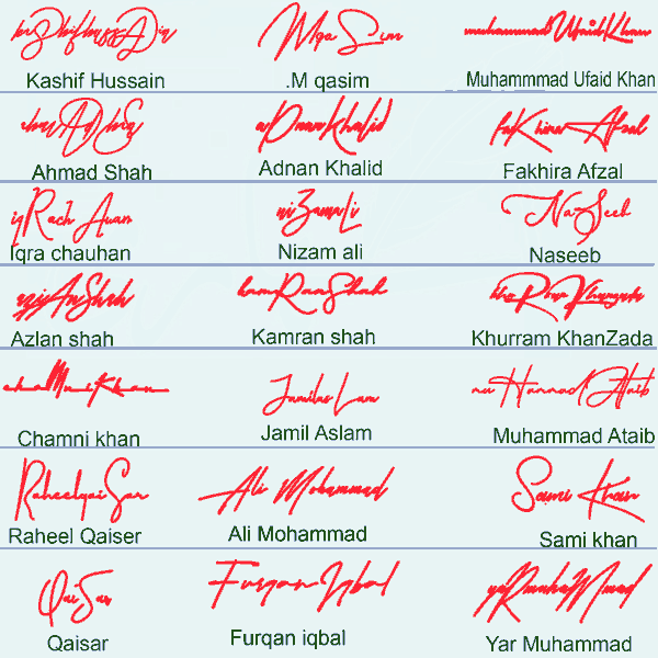 Best Signature Style For My Name